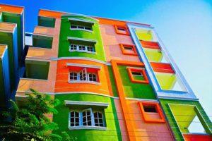 фасады цвет